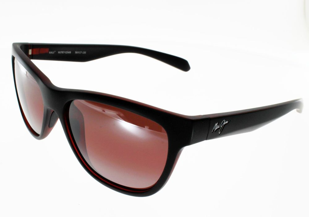 MAUI JIM SECRETS NOIR ROUGE, branches flex