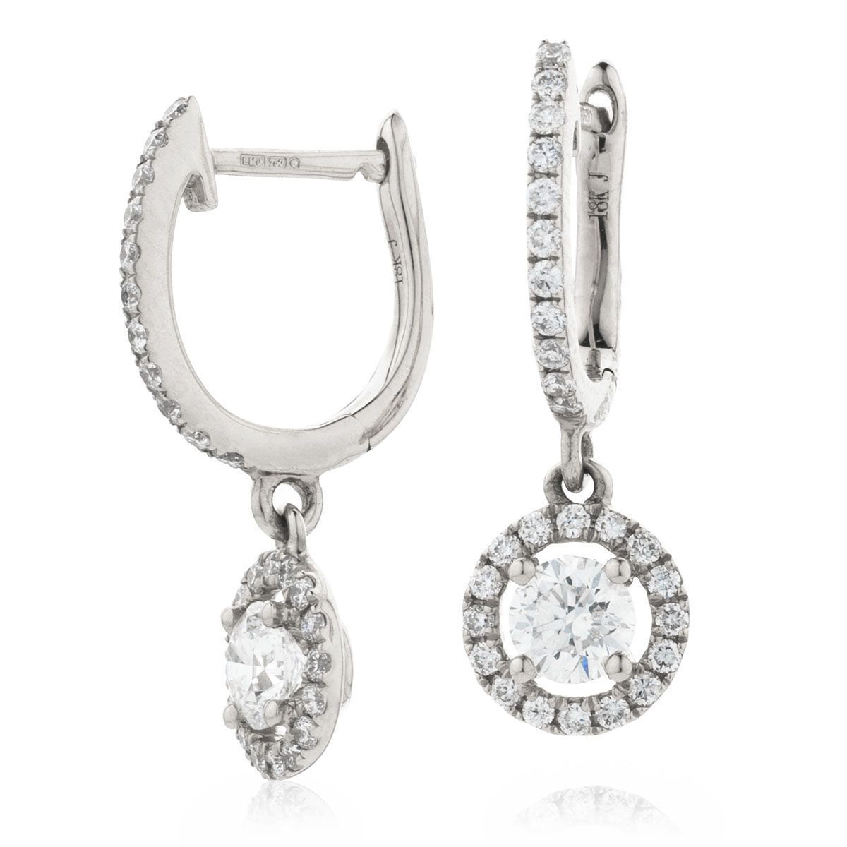 Pendante Dvora Boucles d'Oreilles Or & Diamants