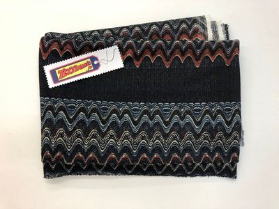 Coupon maille jacquard missoni
