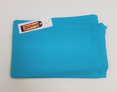 Coupon jersey viscose turquoise