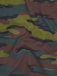 Tissu Croisillons camouflage