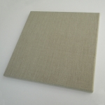 Frame colorless linen 500 g/m2 - Pack of 2