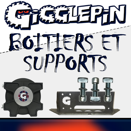 Boîtiers et supports Gigglepin