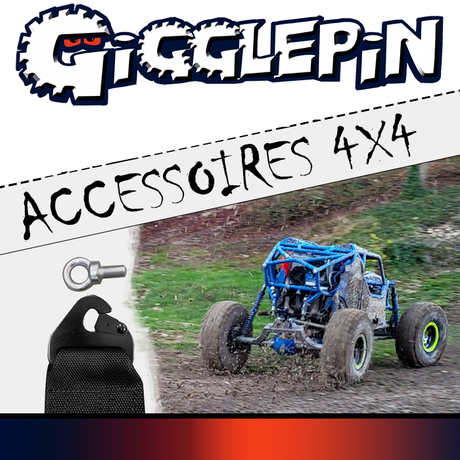 Les accessoires 4x4 GIGGLEPIN !