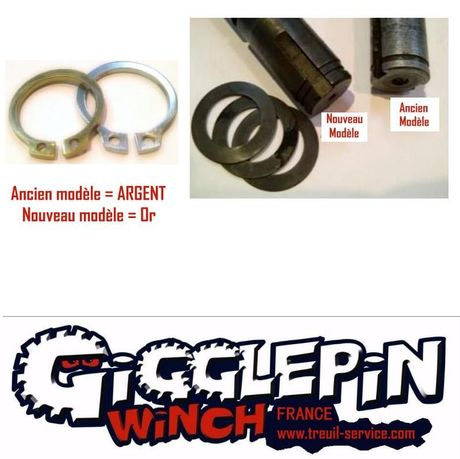 CIRCLIPS MAINSHAFT DE RECHANGE