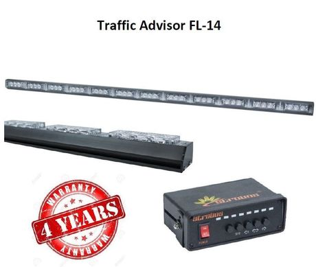Rampe à défilement Traffic Advisor FL-14
