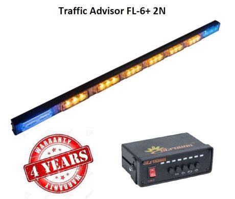 Rampe à défilement Traffic Advisor FL-6+2N
