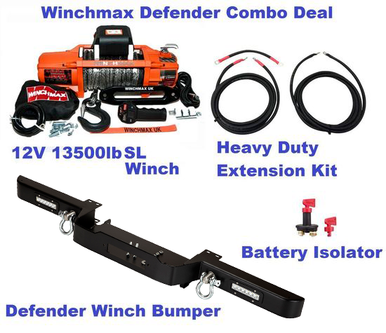 Defender Combo Deal LED Compact-S