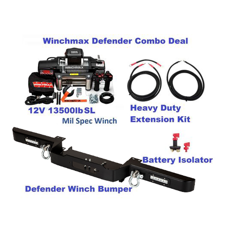 Defender Combo Deal LED Spec Black-A