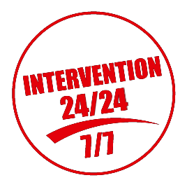 Marquage INTERVENTION 24H/24