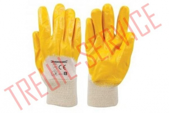 1) Gants interlock nitrile