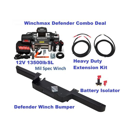 Defender combo deal Spec Black-A