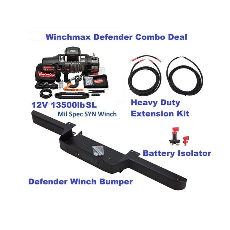 Defender combo deal Spec Black-S