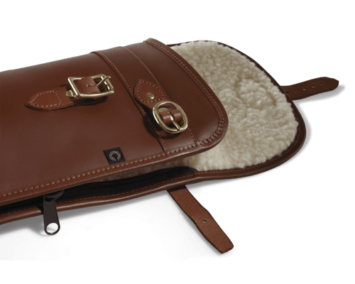Byland leather shotgun slip