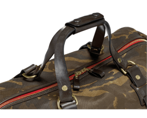 Camouflage duffle holdall