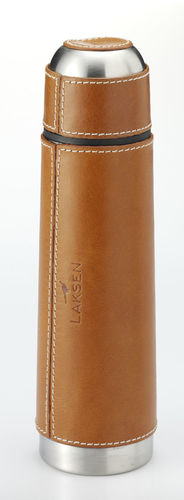 Leather coffe flask