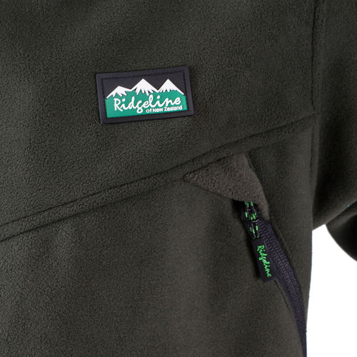 Parka Grizzly polaire olive