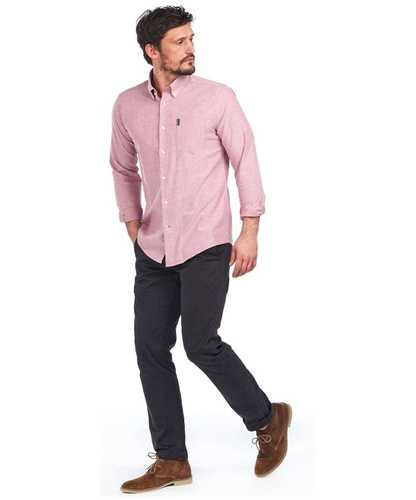 Chemise oxford 1 merlot tailored