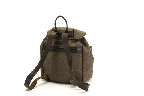 Backpack taupe canvas