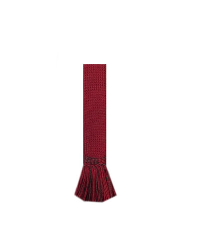 Chaussettes FORRES brick red + garters
