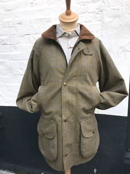 Chiltern teviot tweed coat