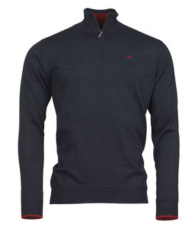Pull NORFOLK 1/4 ZIP STORMSKY