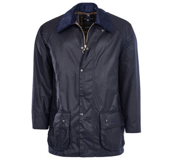 Beaufort navy wax jacket