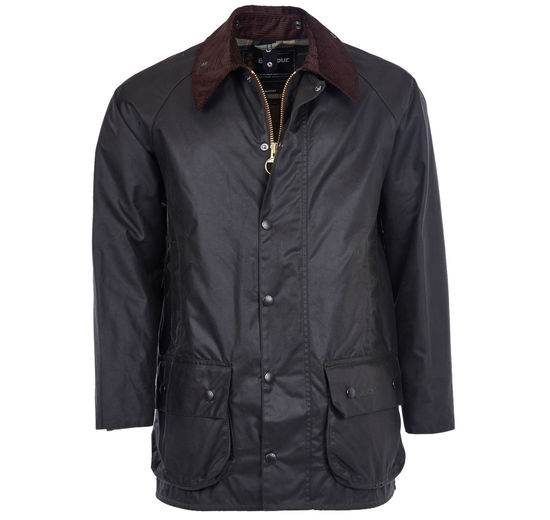 Beaufort sage wax jacket