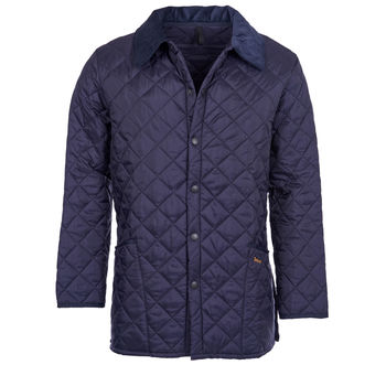 Liddesdale navy quilt jacket