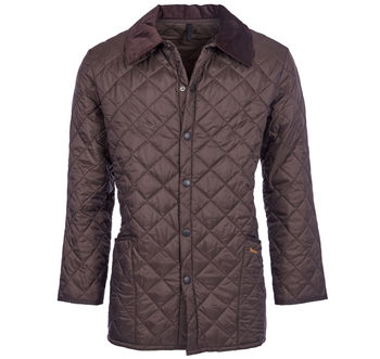 Liddesdale rustic quilt jacket