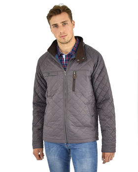 Newton quilt morning sky jacket