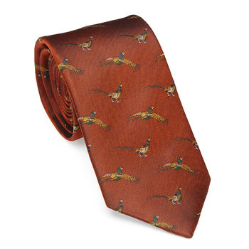 Flying pheasant tie 8 colors