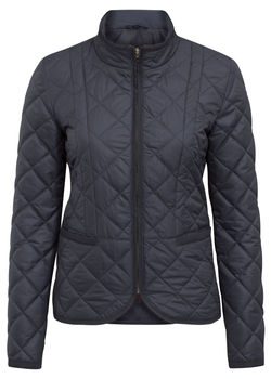 SURREY ladies quilt navy vest