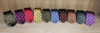 Thin faisant ties 9 colors