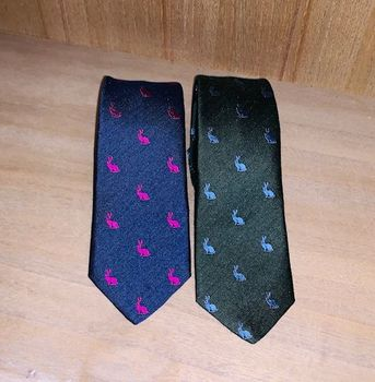Thin hares ties 2 colors