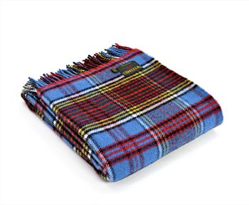 Anderson tartan throw