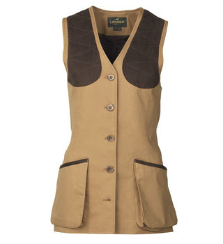 Cottonwoods beauly camel ladies vest
