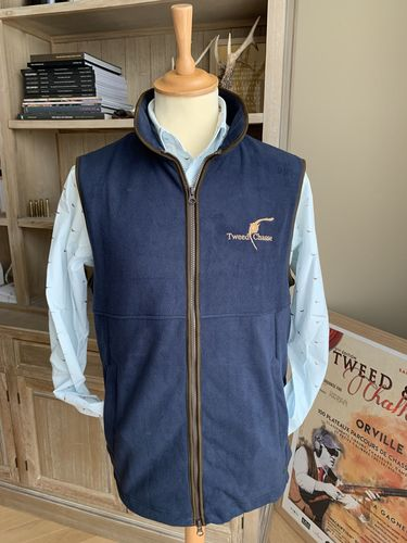 Gilet polaire NORFOLK navy
