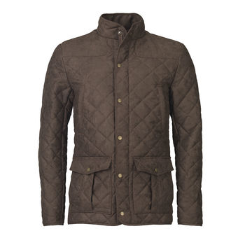 Hampton brown quilt jacket