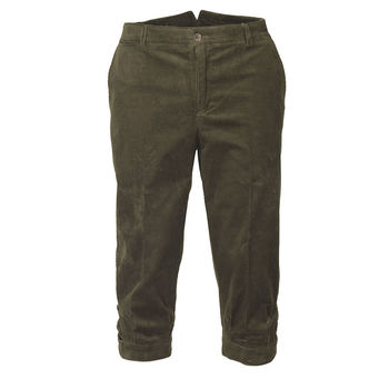 Mayfair green cord breeks