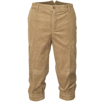 Mayfair camel cord breeks