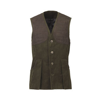 Mayfair cord vest green