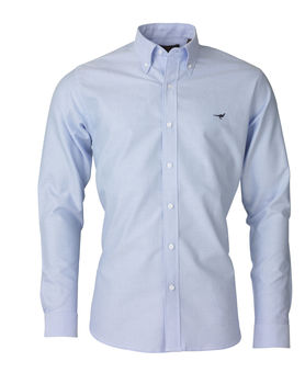 Harvard light blue shirt