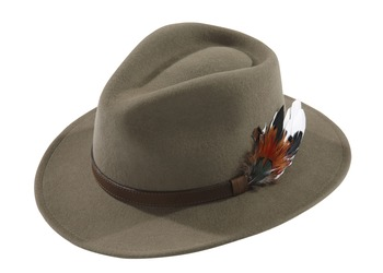 Oat Richmond unisex felt hat