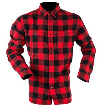 Classic checked red shirt