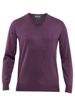 Pull merino Millbreck heather