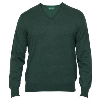 Millbreck hunter merino jumper