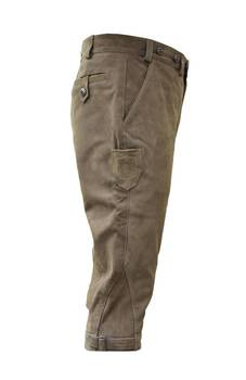 Buffalo olive leather breeks