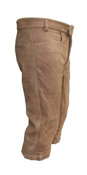 Buffalo brown leather breeks