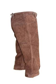 Deer brown leather breeks
